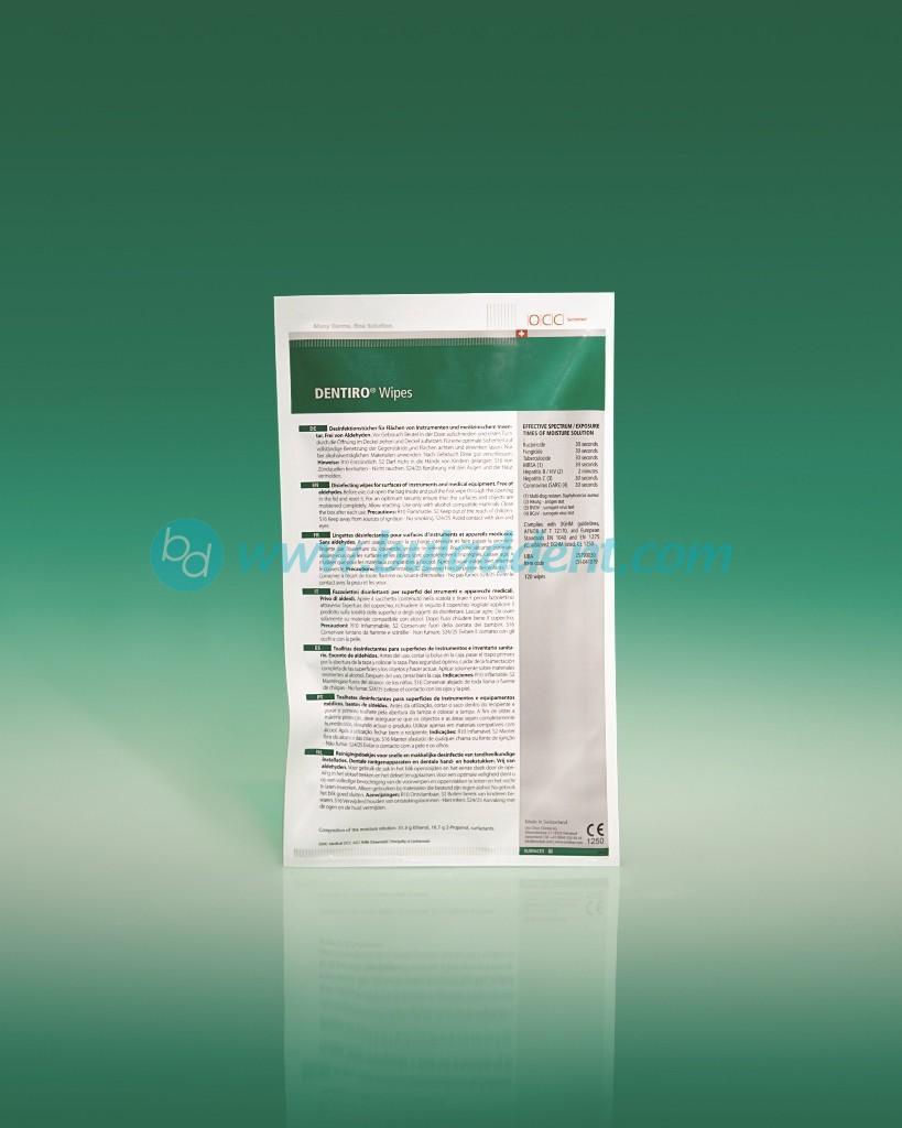 DENTIRO WIPES 120br. refil (palnitel)/ DENTIRO KARPICHKI